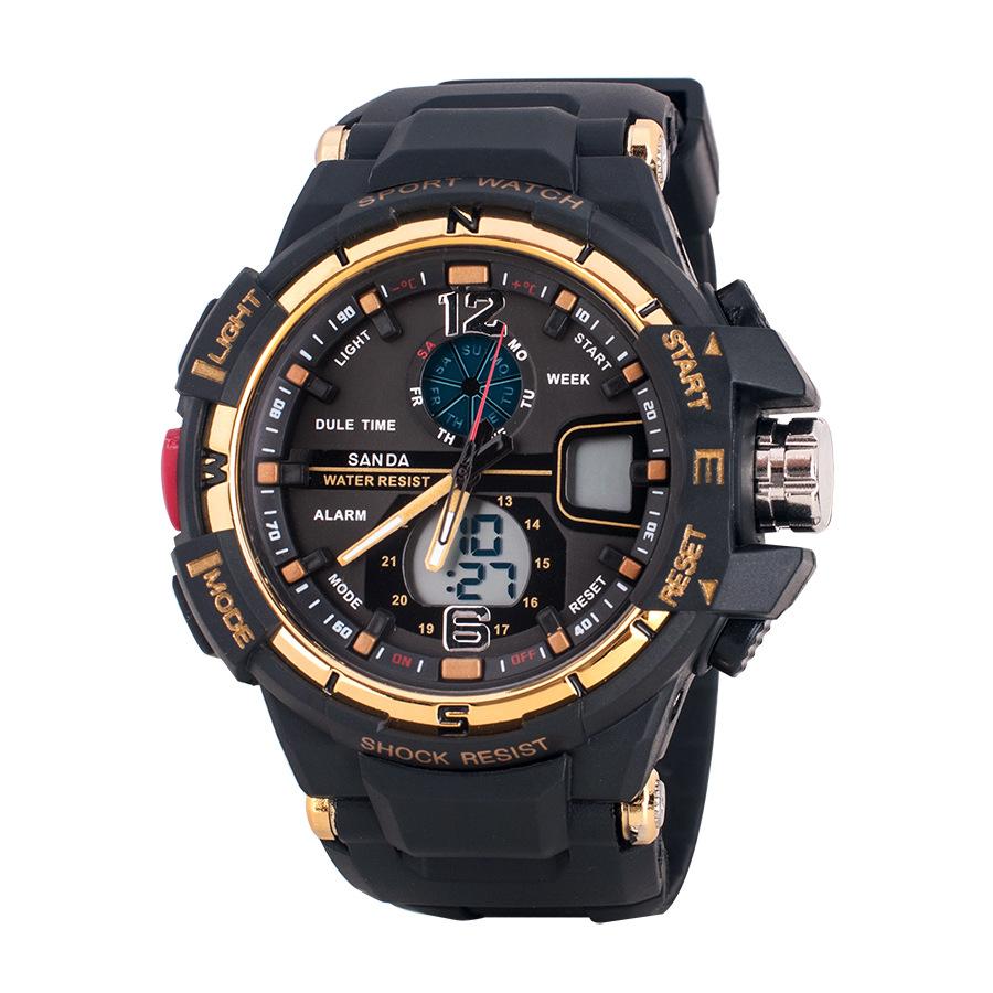 2015 new fashion Men and women fashion multi function electronic watch fashion elegant sports watch G