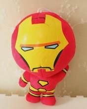 Vingadores Marvel Capitão América homem Aranha Hulk Batman Thor Ironman Spiderman Macio Stuffed Plush Toy Dolls Presentes de Natal para Crianças(China)