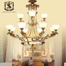 Traditional Hotel Large Copper Chandeliers BL8002-8+4(China (Mainland))