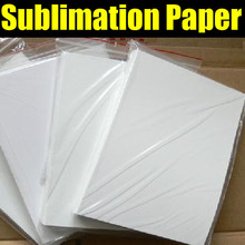 Factory wholesale A4 size sublimation paper for heat press machine on mugs,phones 100pcs/lot  by free shipping (China (Mainland))
