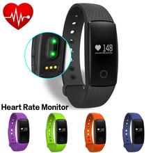 New Heart Rate Smart Bluetooth Bracelet IOS/Android Smart Wristband Fitness Activity Tracker Smartband Not Xiaomi Mi Band Miband