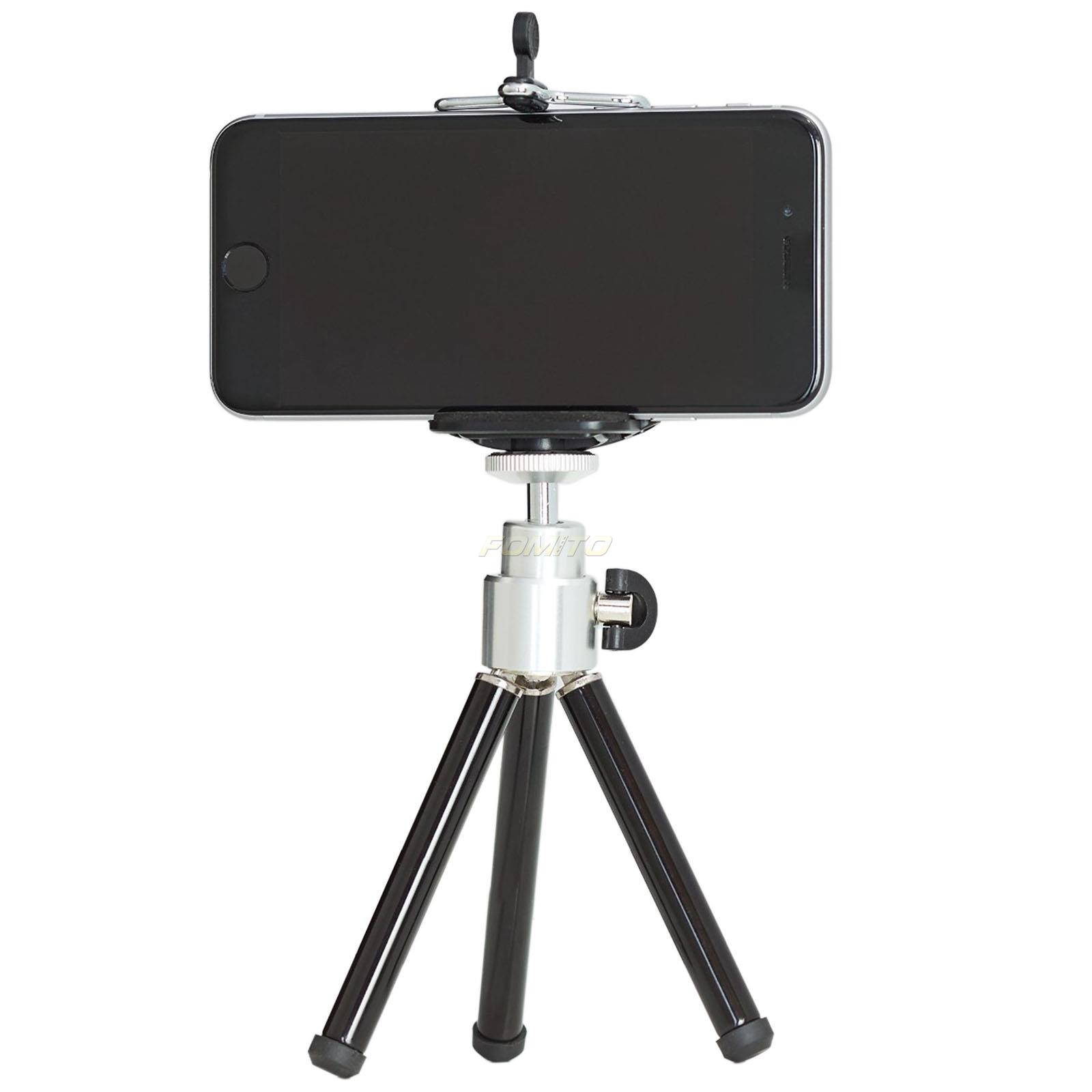 Fomito Mini Tripod Desktop for samsung phone for iphone 6 5S 5 For SLR/Digital Camera with Black Color(ONLY Tripod)(China (Mainland))