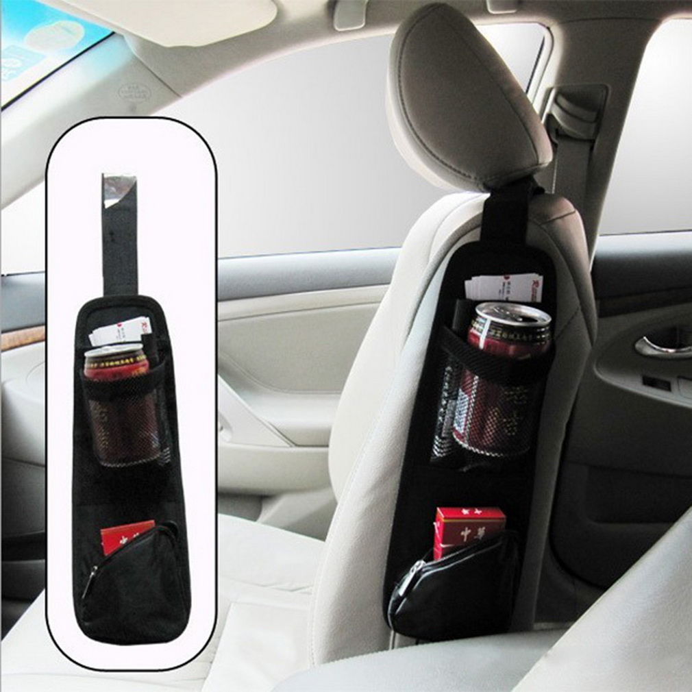 Useful Car Interior Seat Covers Hanging Bags Collector Organizing Bag with Storage Pockets Seat Bag of Chair Side<br><br>Aliexpress