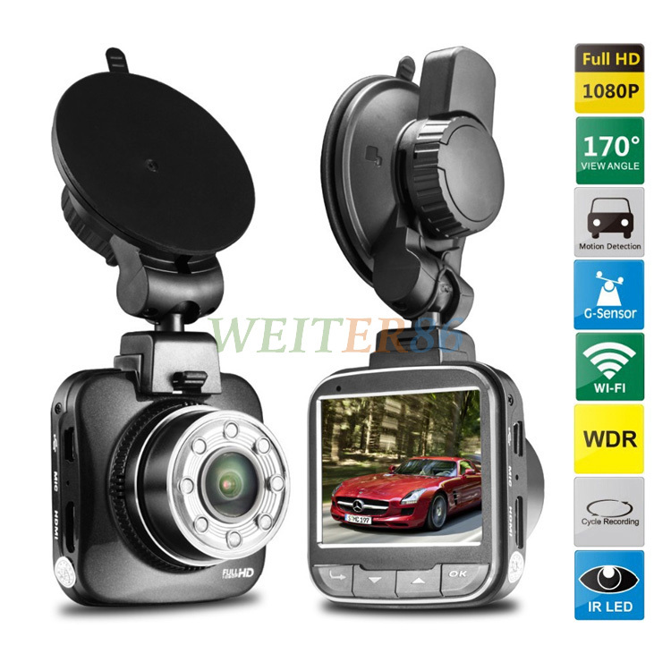 """Car Camera G55W Wifi Car DVR Full HD 1080P 30fps 2.0"""" LCD with G-sensor IR Night Vision Ismart Cam Support Android(China (Mainland))"""