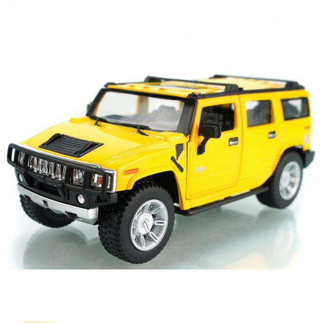 Free shipping Kinsmart soft world h2 hummer suv car model alloy toy Wholesale(China (Mainland))