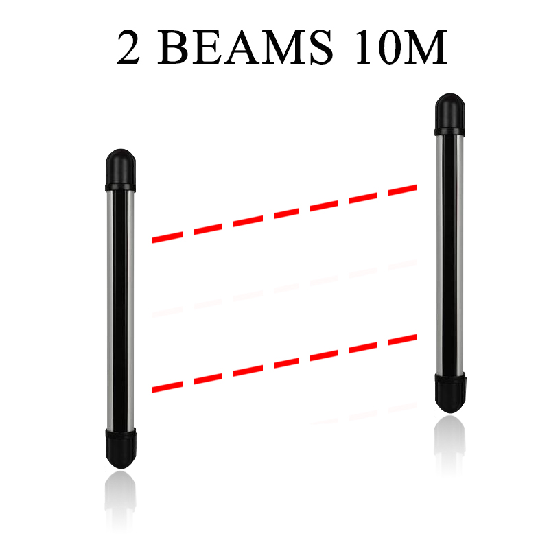10 Meter Outdoor Anti-theft Infrared Barrier for Home Security GSM WIFI PSTN Alarm System(China (Mainland))