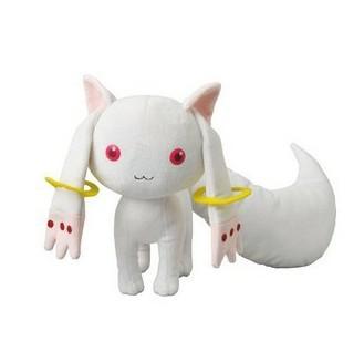Japenese Magi Girl Madoka Magica PLUSH GRAVELINES Kyubey Plush Doll Puella 21cm Souvenirs - kitty lui's store