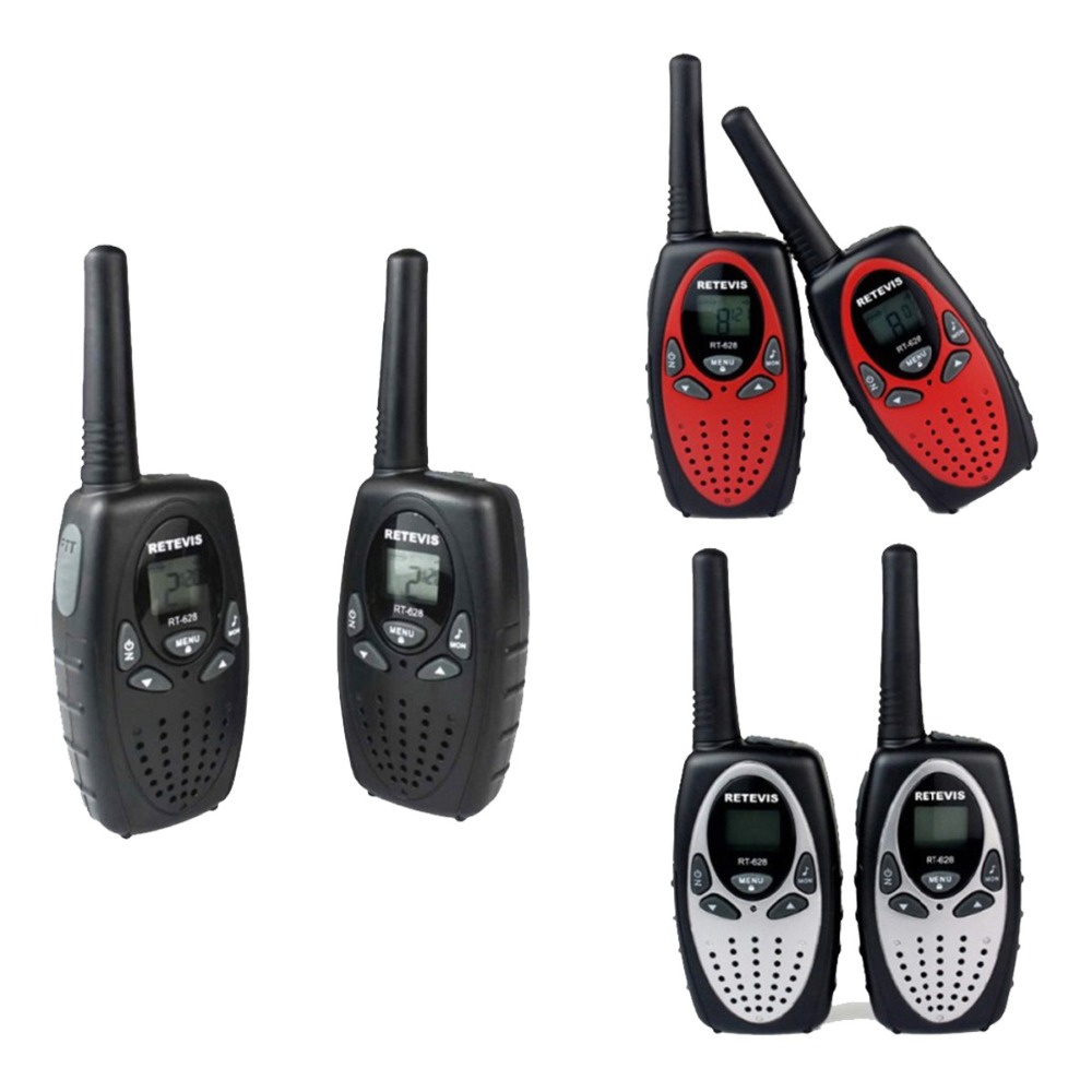 2pcs RETEVIS RT628 Children Walkie Talkie 0.5W UHF 446MHz Hf Transceiver Portable Ham Radio Comunicador Kids LCD Display A1026B(China (Mainland))