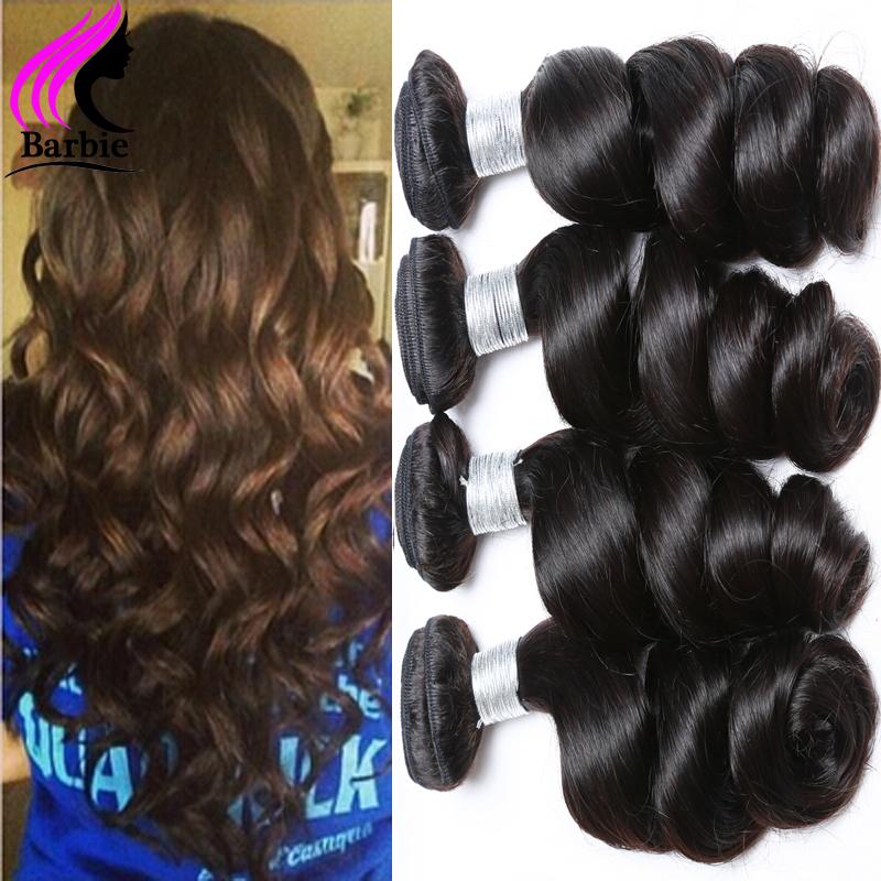 Cheap Brazilian Virgin Hair Loose Wave Hair Extensions 3 Bundles Brazilian Hair Weave Bundles Brazilian Loose Wave Virgin Hair