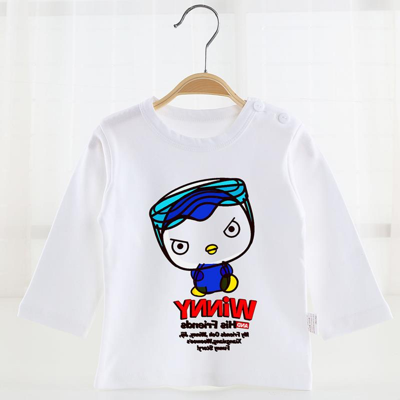 New 2016 Brand 100% Cotton Baby Girls Clothing Children Clothes Toddler Kids t-shirt Tees Long Sleeve t shirts Baby Girls Blouse