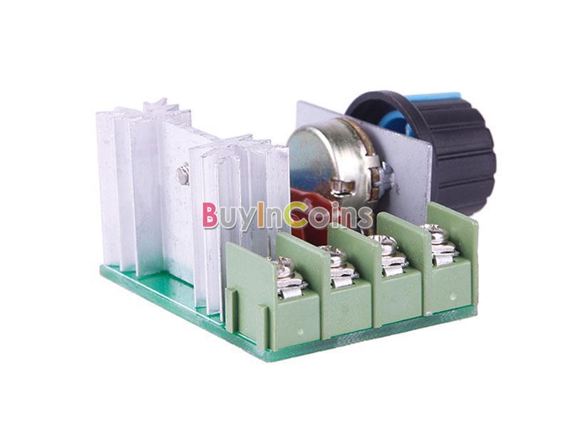 2000w 220v Ac Scr Electric Voltage Regulator Motor Speed