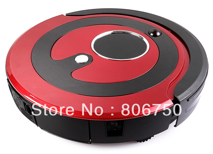 Free Shipping Most Advanced Smart Vacuum Cleaner Robot,(Sweep,Vacuum,Mop,Sterilize),Screen,Schedule,2 Side Brush,Self Recharge(China (Mainland))