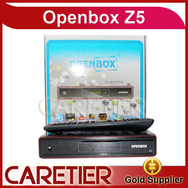 Original Openbox Z5 Satellite Receiver Openbox X5 with Chinese Language Youtube Google Maps Weather CCcam freeshipping to Russia(China (Mainland))