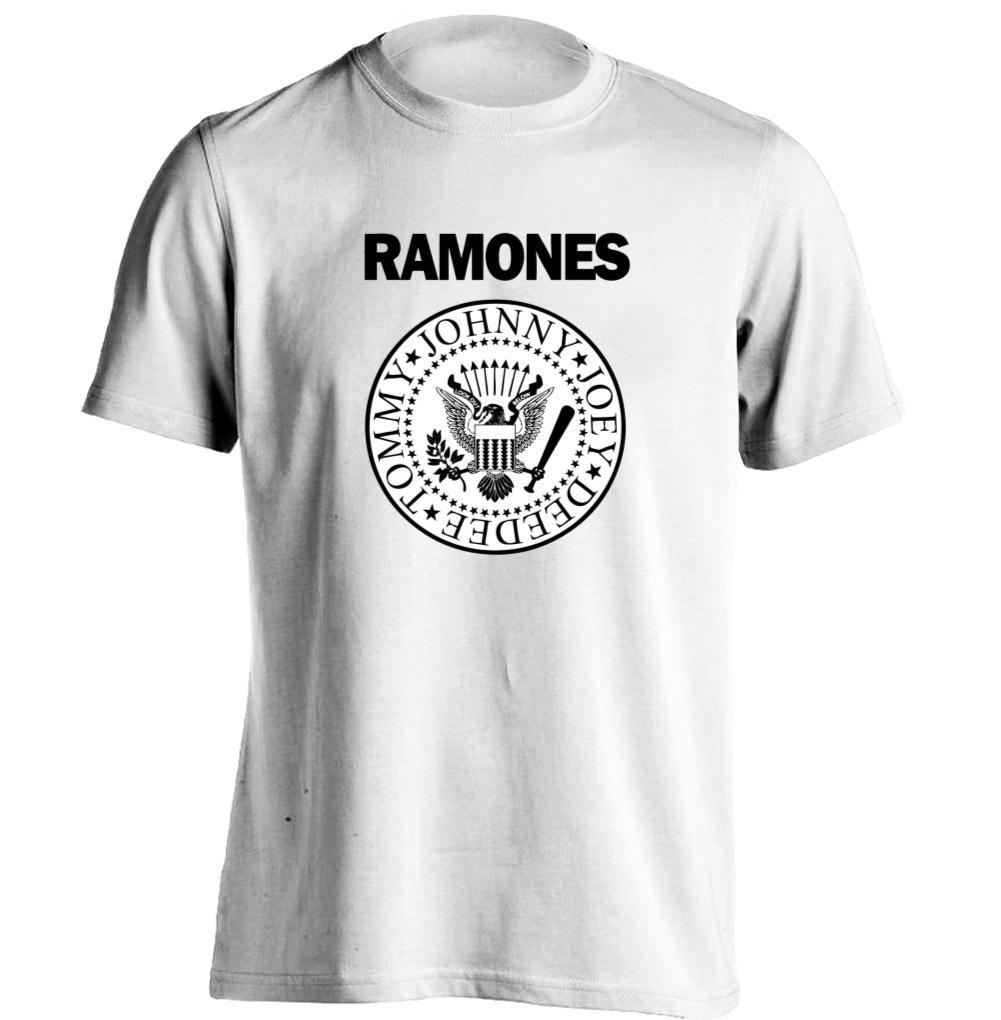 Punk Rock Band Ramones logo Mens & Womens Band T Shirts Rock T Shirt Custom T Shirt(China (Mainland))