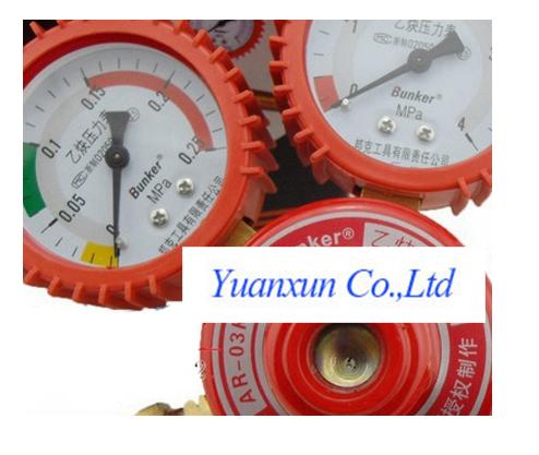 The new B-type table tool shockproof pressure gauge Regulator Torch torch AR03K<br><br>Aliexpress