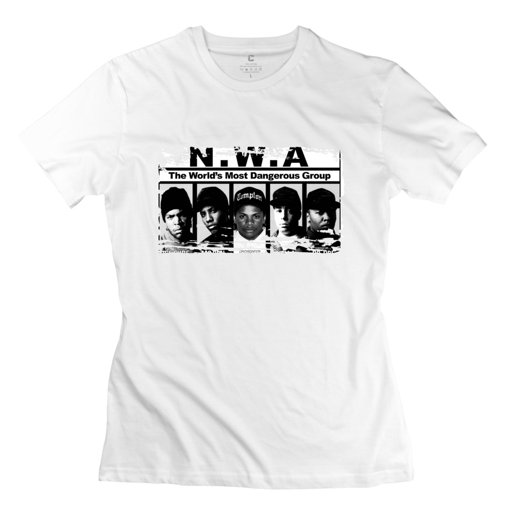 New straight outta compton nwa team t shirt 3d cotton for Straight from the go shirt