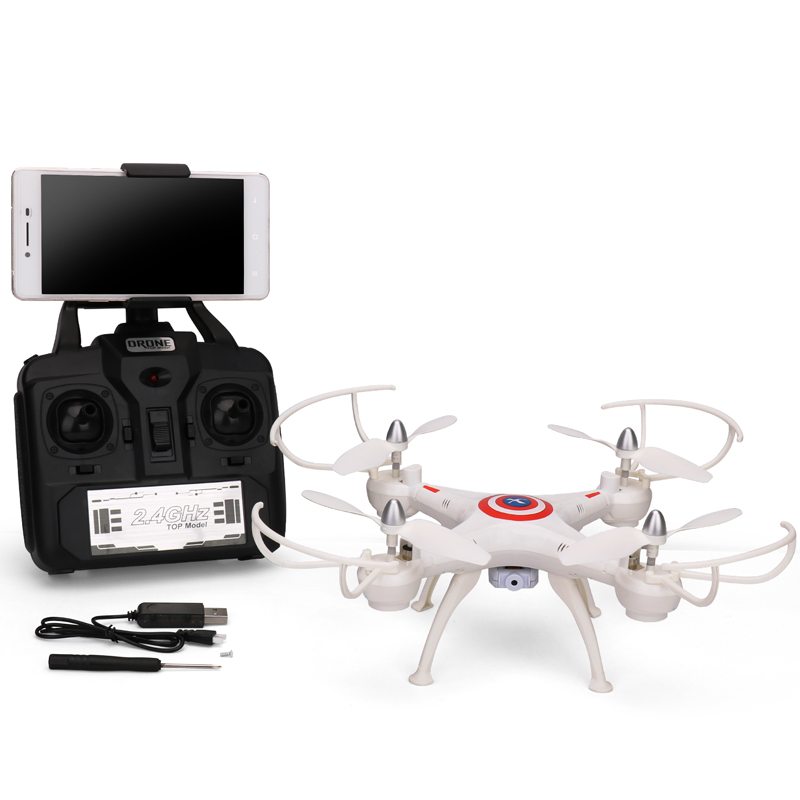 High Quality Hot Sale DWI D4 RC Drone with Camera Real Time Video Photo Remote Control Quadcopter Helicopter RC Outdoor Toys(China (Mainland))