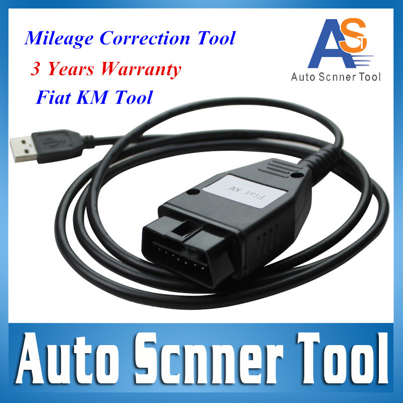 Aliexpress 2015 Top A++ Selling High Quality FIAT KM Mileage Correction Programmer Fiat KM Scanner Interface Free Shipping(China (Mainland))