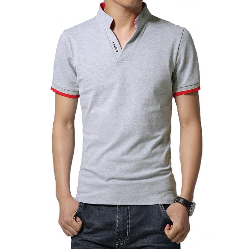 Brand new designs mens t shirt slim fit v neck t shirt men for Branded v neck t shirts