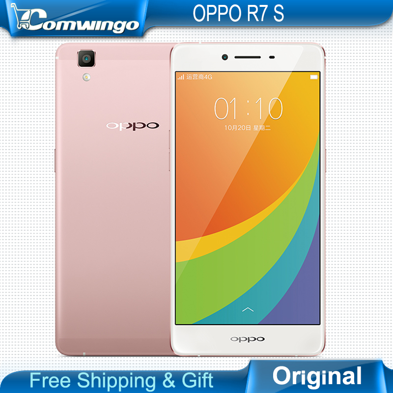 New Original OPPO R7s 5.5'' Color 1080 x 1920 pixels MT6752 Octa Core 1.7GHz ROM 32GB RAM 4GB Android OS, v5.1 TD-LTE Cell Phone(China (Mainland))