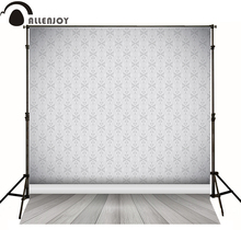Allenjoy photography backdrops vintage floral wallpaper gary luxury elegant backgrounds for photo studio vinyl bokeh phtocall(China (Mainland))