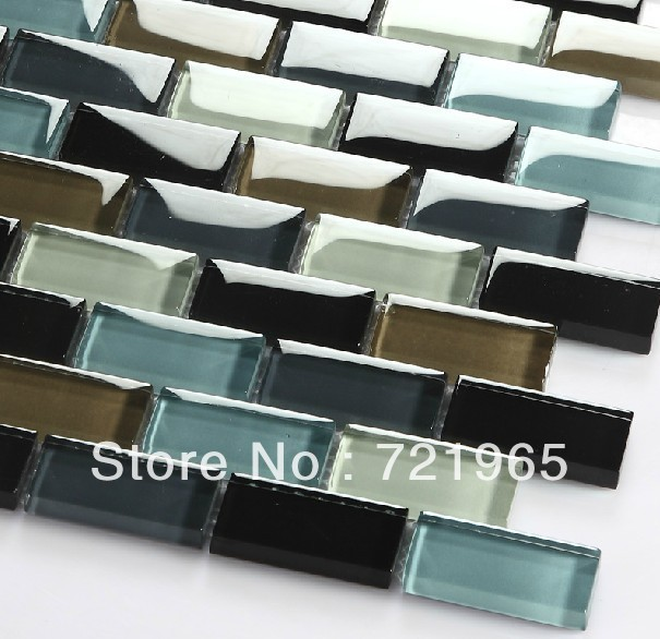Azulejos Para Baño De Cristal:de vidrio backsplash de la cocina malla deco azulejo mosaico de vidrio