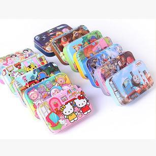 2015 Hot Sale Real 2-4 Years Unisex 3d Puzzle Cartoon Puzzles For Adults Educational Toys Kids Toys Wooden Cartoon/puzzles(China (Mainland))