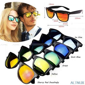 Бесплатная доставка новый авиатор классический ретро солнцезащитные очки старинные женщин людей оттенки очки очки