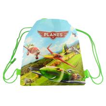 1pic school bags kids drawstring backpack bag For kids cartoon bag back to school girls boys