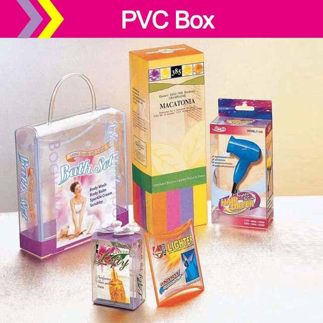 NEW DESIGN Gift Boxes With PVC