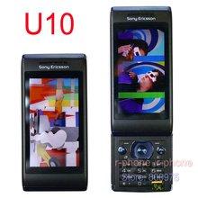 U10i Original Sony Ericsson Aino u10 Mobile Phone 3G 8.1MP WIFI GPS Bluetooth Unlocked U10 Cellphone Russian Keyboard(China (Mainland))