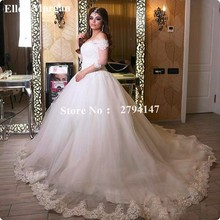 Buy Saudi Arabia Plus Size Wedding Dresses 2017 Lace Tulle Vestido De Noiva Corset Ball Gowns Long Beautiful Cheap Bridal Gowns for $175.12 in AliExpress store