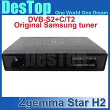 1PC Zgemma star H2, upgraded from Cloud ibox 3 Satellite Receiver Linux enigma 2 with Twin Tuner DVB-S2+DVB-T2/C Free Shipping(China (Mainland))