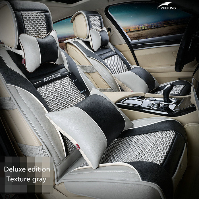 Brand New Styling Luxury Leather Car Seat Covers Front