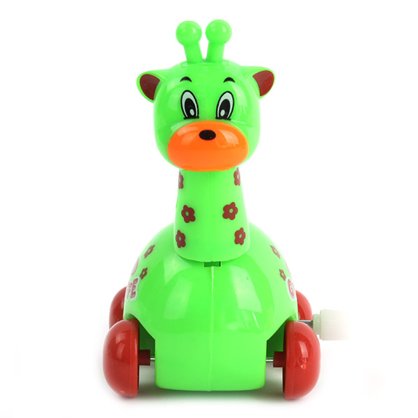 Cute Wind Up Spring Giraffe Kids Baby Early Educational Toys Waking Toys New(China (Mainland))