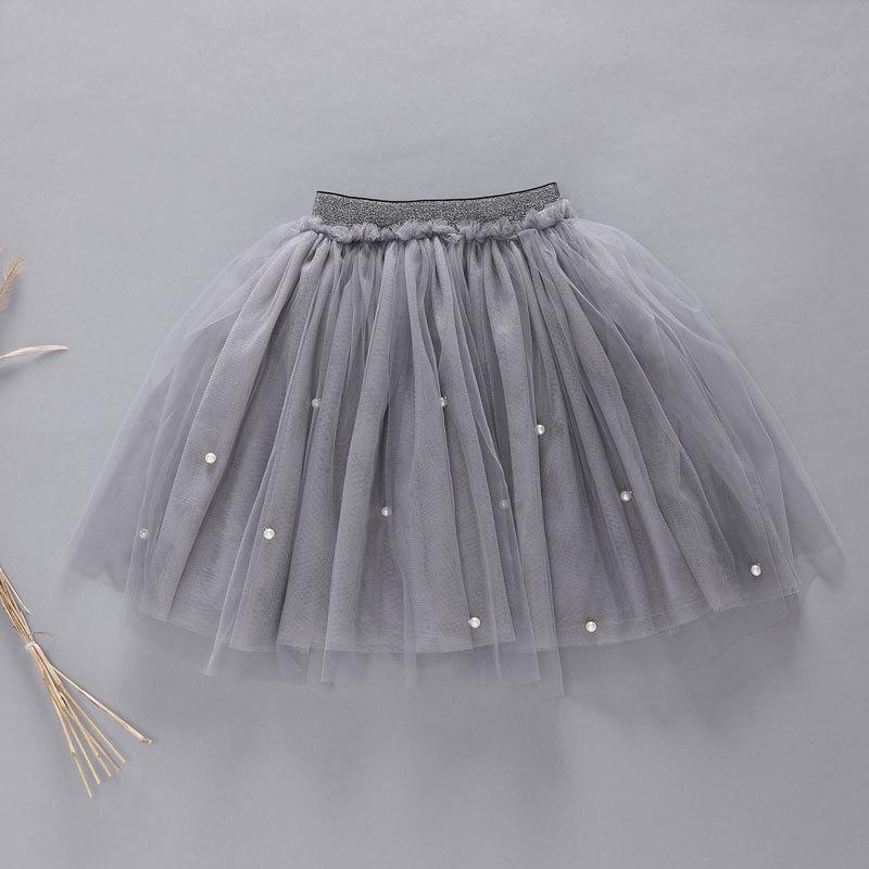 Baby Girls Pearl Tutu Skirt Children Ballet Kids Summer Pettiskirt Baby Girl Skirts Princess Tulle Party Colorful Dance Skirts(China (Mainland))