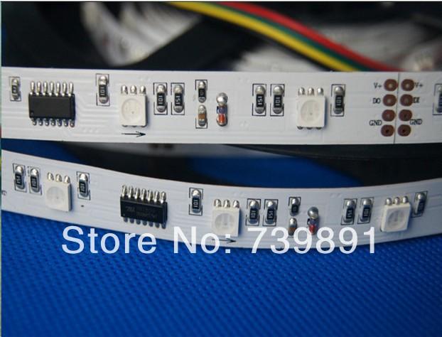 non-waterproof IP20 ,5m 30leds/m TM1809 led dream color strip,DC5V input,10pcs IC each meter,(China (Mainland))