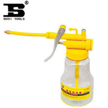 High Quality Clear White Plastic Pump Oiler With Flexional Pole Below 50(China (Mainland))