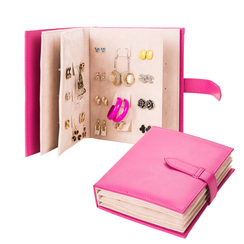 Travel Portable jewelry box jewelry box jewelry earrings earrings Korean creative collection of books<br><br>Aliexpress