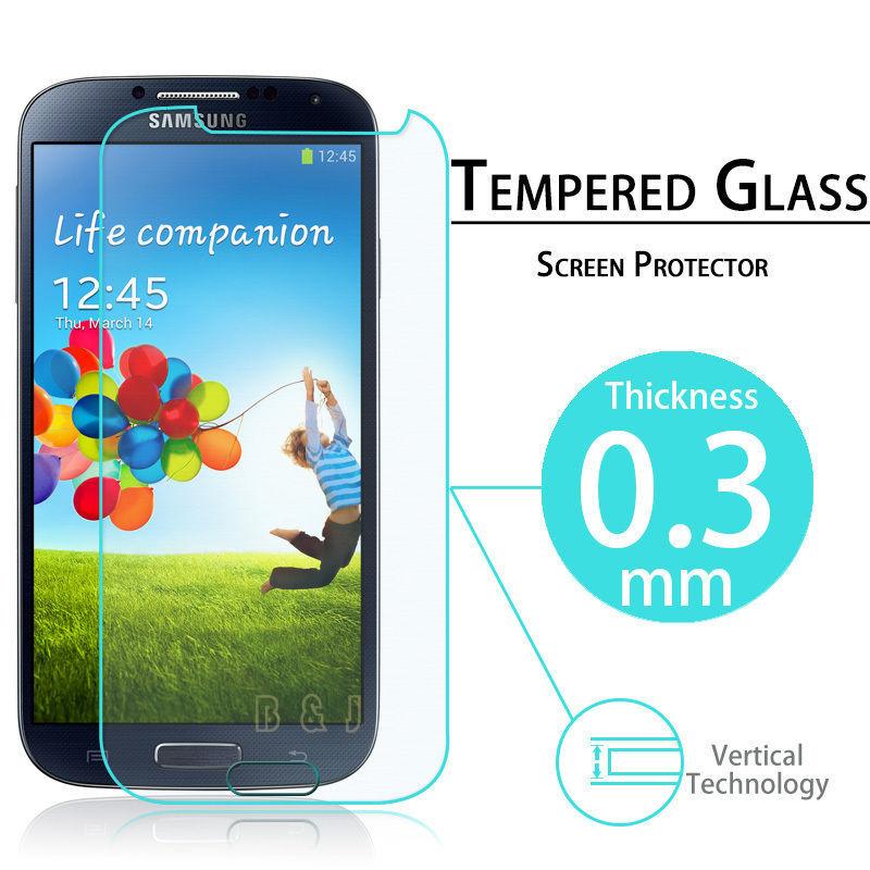 Гаджет  Tempered glass screen protector for Samsung Galaxy S4 I9500 SIV clear screen protective film guard With retail package  None Телефоны и Телекоммуникации