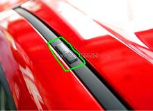 Free shipping , roof seal covers for Mazda 3 Mazda 6 ,4pcs car styling sticker(China (Mainland))