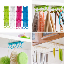 S-home New Arrival Kitchen Utensils Rack Holder Hook Ceiling Wall Cabinet Hanging Storage Organizer FEB21(China (Mainland))