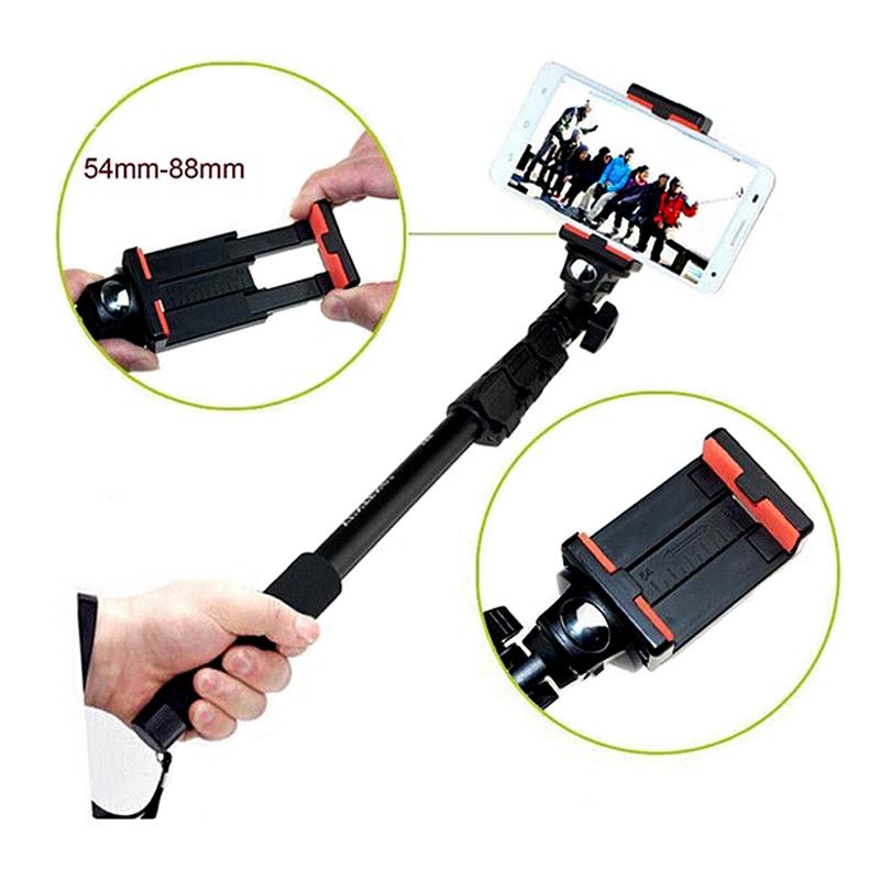yunteng telescopic handheld selfie stick camera monopod with tripod mount for gopro hero 1 2 3 3. Black Bedroom Furniture Sets. Home Design Ideas
