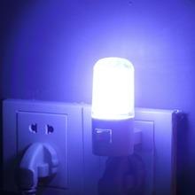 4 LED Wall Mounting Bedroom Night Lamp Light US Plug Lighting Bulb AC 1W(China (Mainland))