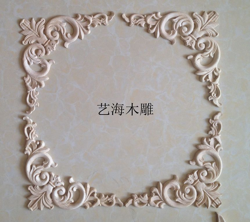 Dongyang wood carving decoration fashion indoor solid furniture motif fine corner - Chinese products shop store