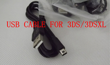 2pcs/lot Electronic 2014 New USB Sync Charge USB Cable For Nintendo 3DS DSi NDSI XL(China (Mainland))