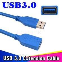 Universal USB 3.0 Extension Cable 1m High Speed M/F Male To Female Wire data Connector Adapter(China (Mainland))