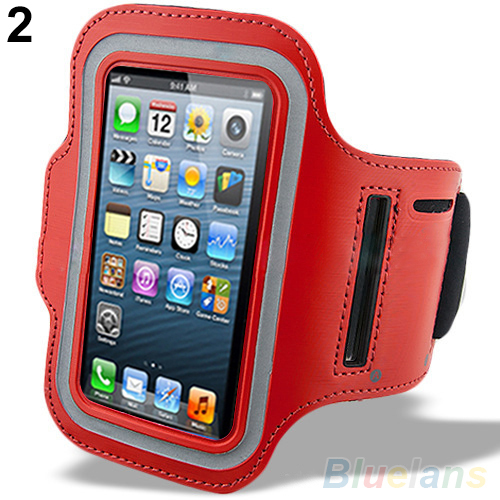 Sports Adjustable Arm Band Armband Gym Equipment Case Cover For iPhone 6/ 6 Plus 48CQ