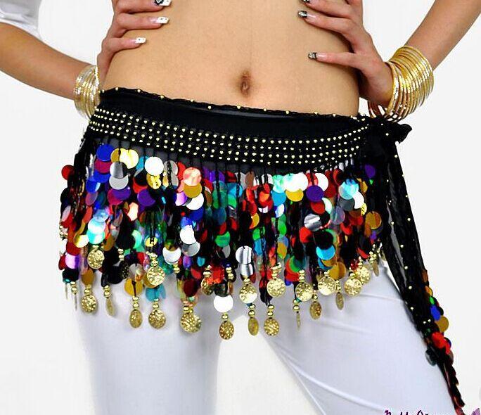 2016 The new 88 credits blending gong piece belly dance waist chain waist, belly dance costume(China (Mainland))