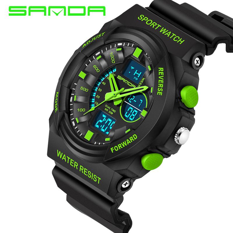 Men Sports Watches 30M Swim Dive LED Digital Military Watch Fashion Outdoor Wristwatches Waterproof digital-watch(China (Mainland))